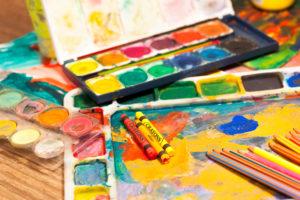 Mixed Media Art at Big Rock Studio